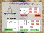 mx threshold specification 3 cat2