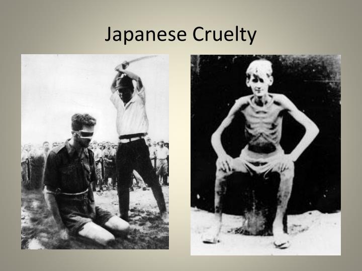 Japanese Cruelty