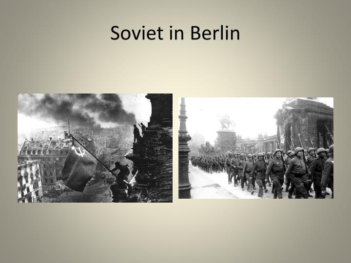 Soviet in Berlin