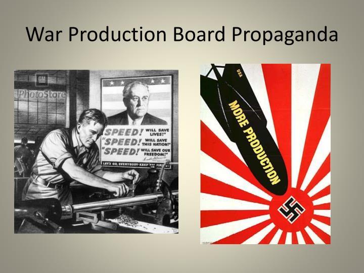 War Production Board Propaganda