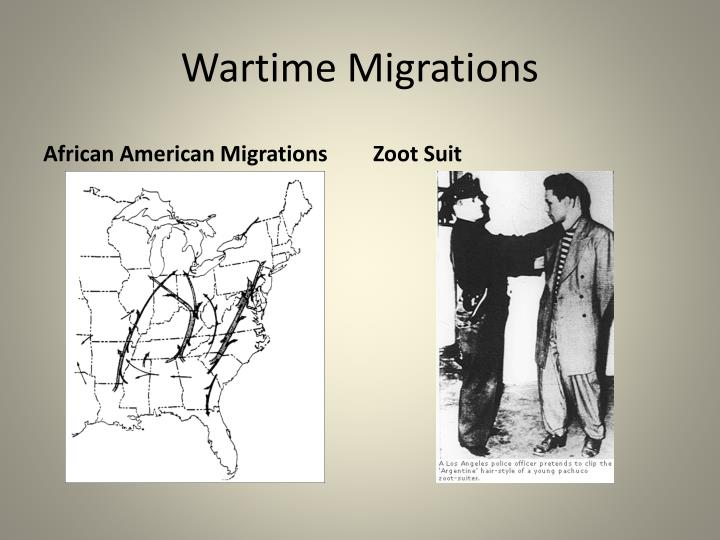Wartime Migrations
