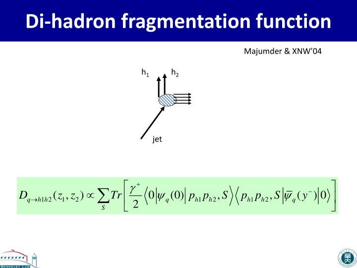 Di-hadron fragmentation function