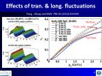effects of tran long fluctuations