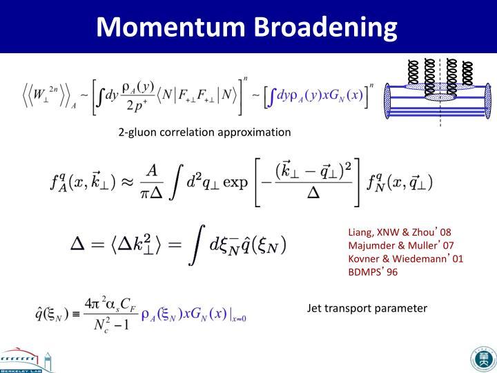 Momentum Broadening