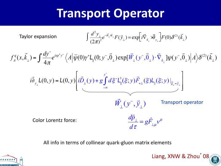 Transport Operator