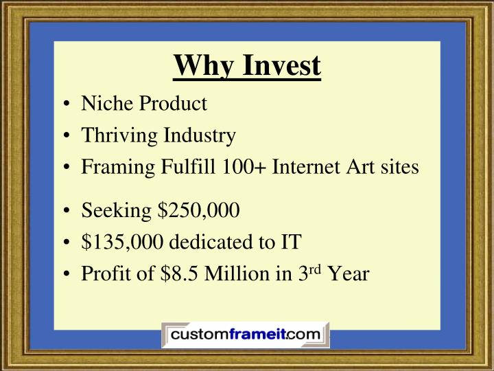Why Invest