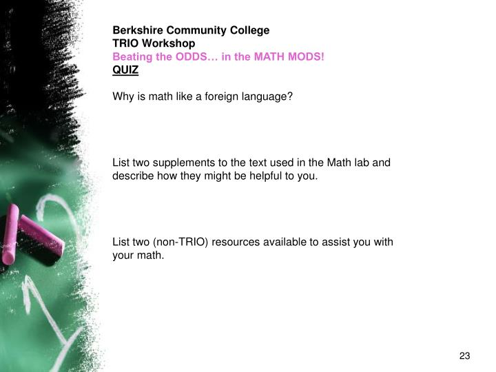 Berkshire Community College