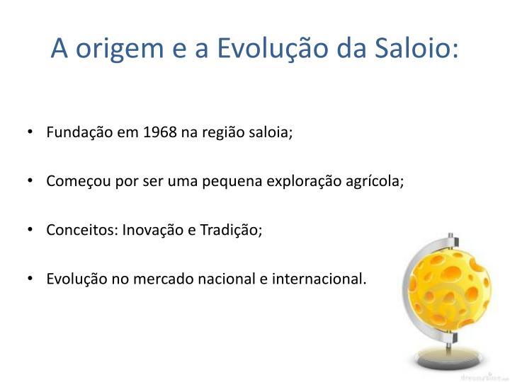 A origem e a Evolução da Saloio: