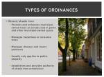 types of ordinances1
