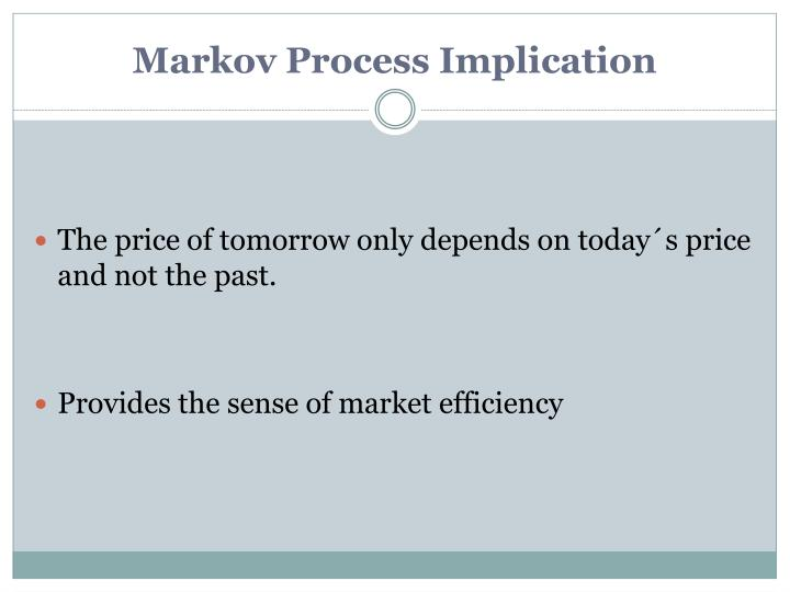 Markov Process Implication