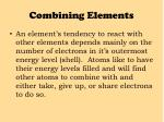 combining elements2