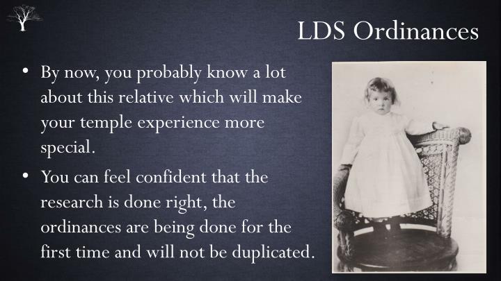 LDS Ordinances