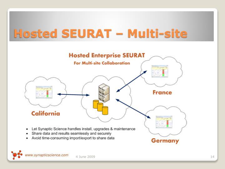 Hosted SEURAT – Multi-site