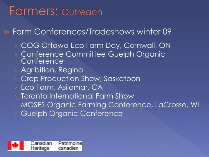 Farmers: