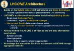 lhc one architecture