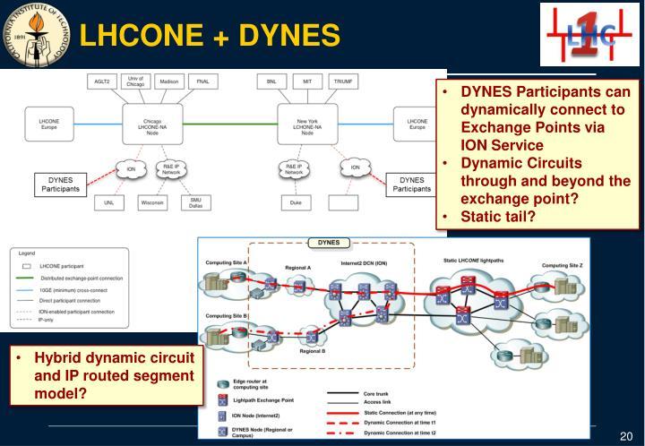 LHCONE + DYNES