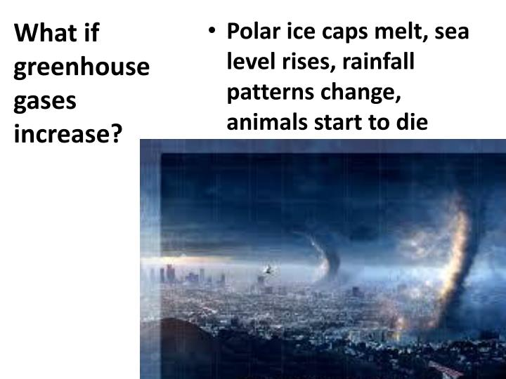 What if greenhouse gases increase?