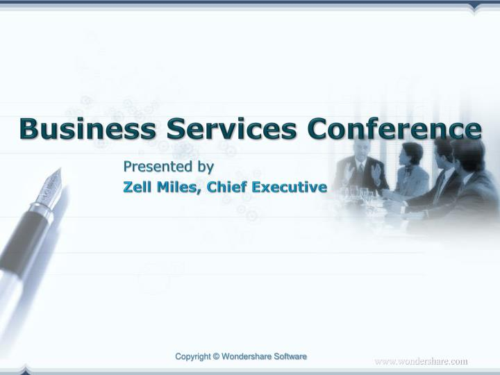 business services conference