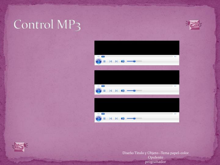 Control MP3