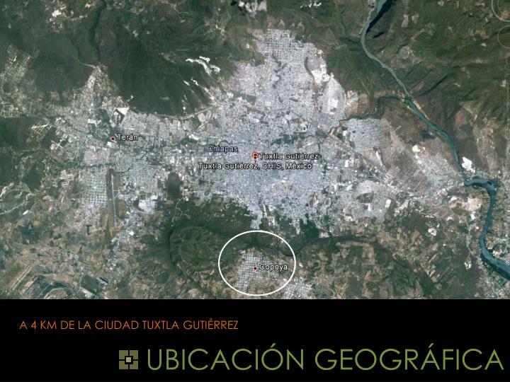 UBICACIÓN GEOGRÁFICA