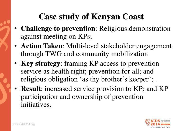Case study of Kenyan Coast