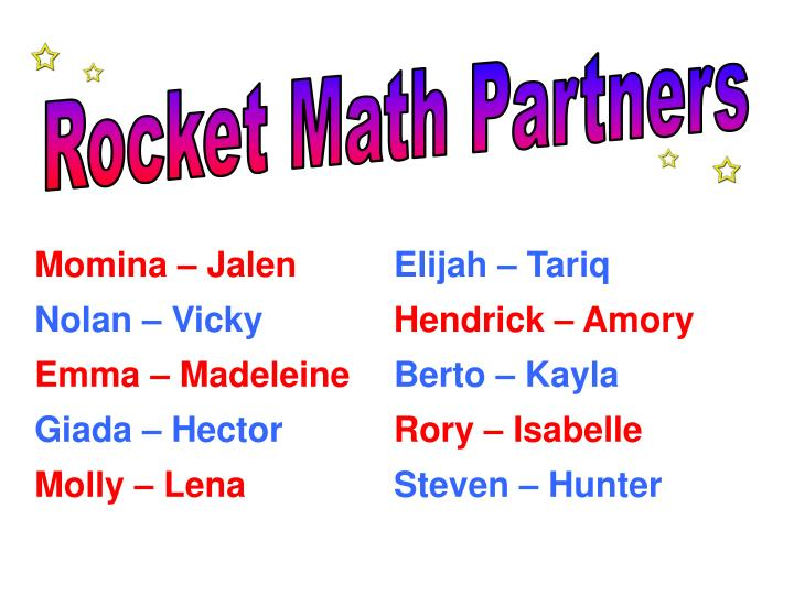 Rocket Math Partners