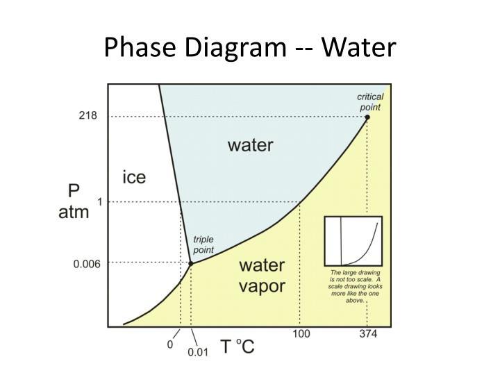Phase Diagram -- Water