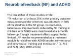 neurobiofeedback nf and adhd1