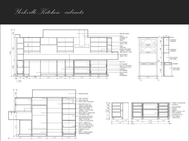 Yorkville Kitchen - cabinets