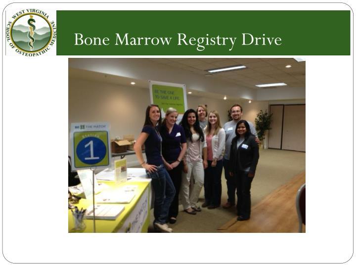 Bone Marrow Registry Drive