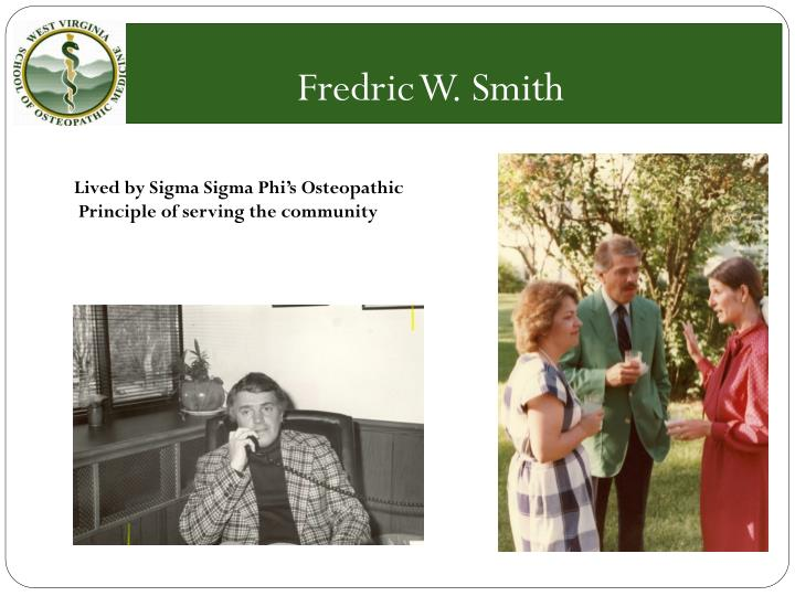 Fredric W. Smith