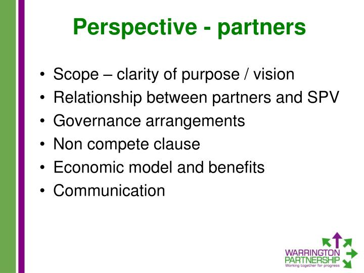 Perspective - partners