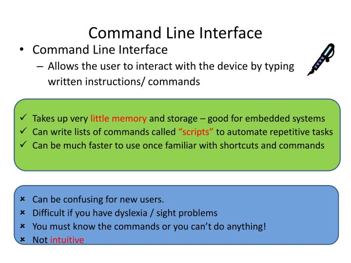 Command Line Interface