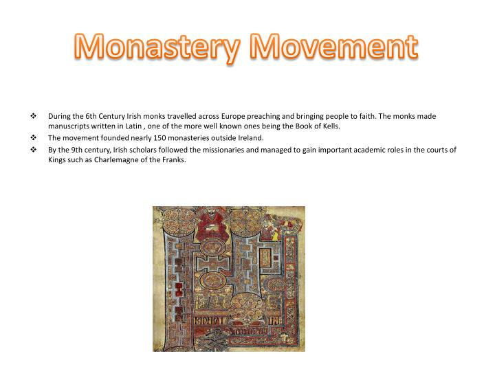 Monastery Movement