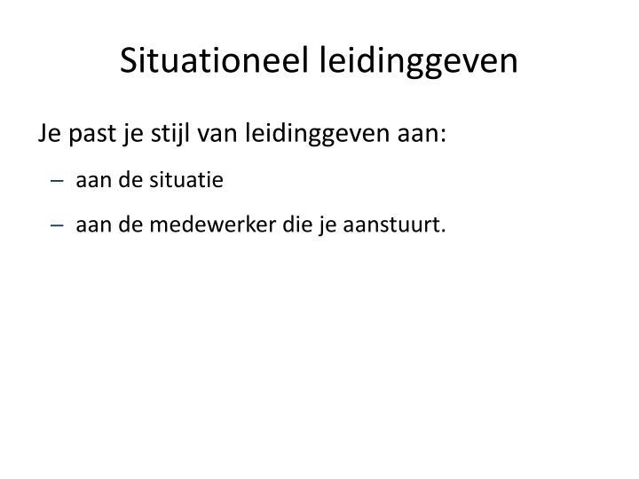 Situationeel