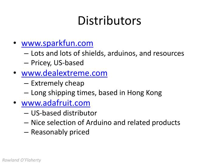 Distributors