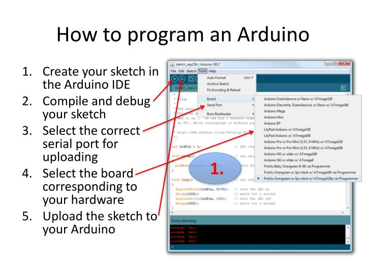 How to program an