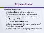 organized labor4