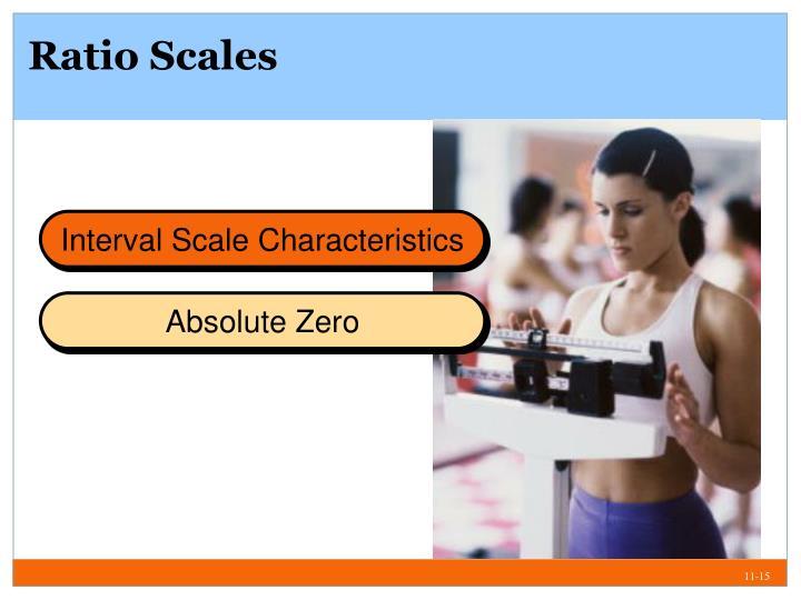 Ratio Scales