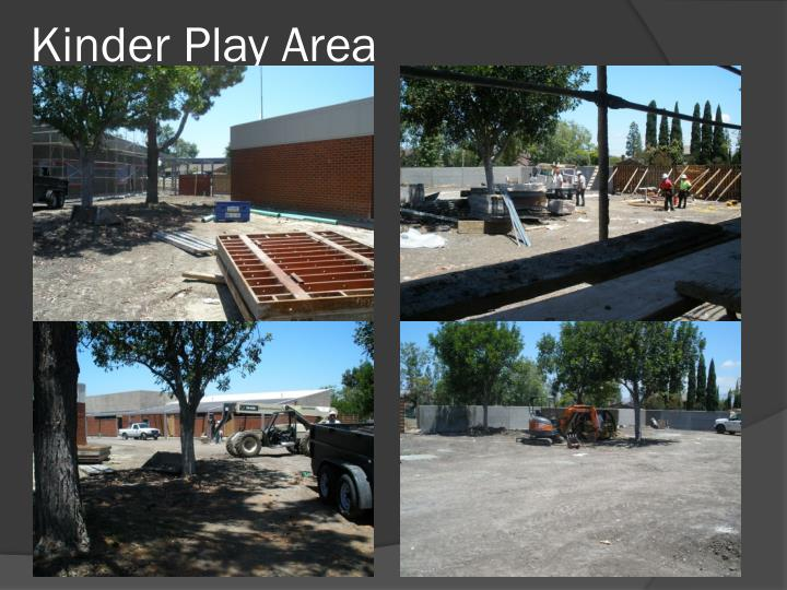 Kinder Play Area
