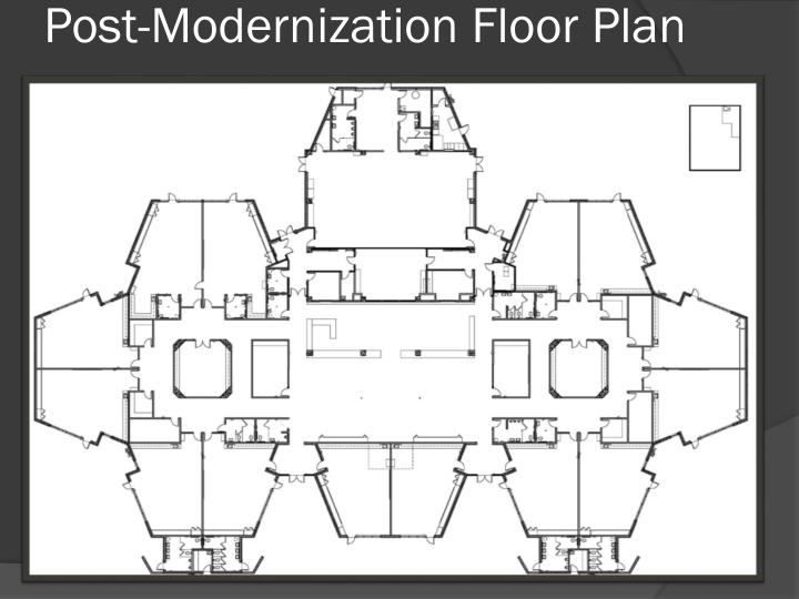 Post-Modernization Floor Plan