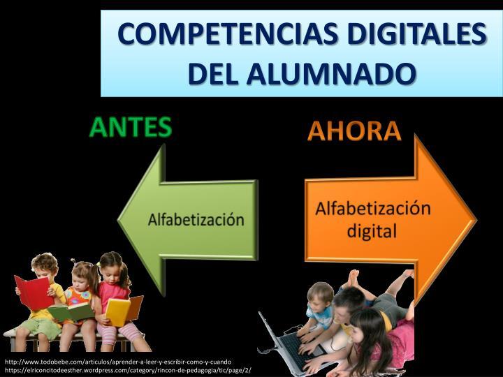COMPETENCIAS DIGITALES DEL ALUMNADO
