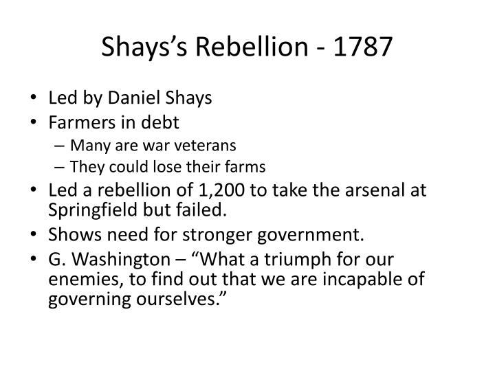 Shays's