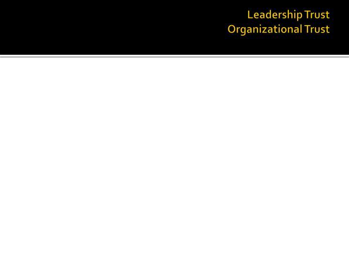 Leadership Trust