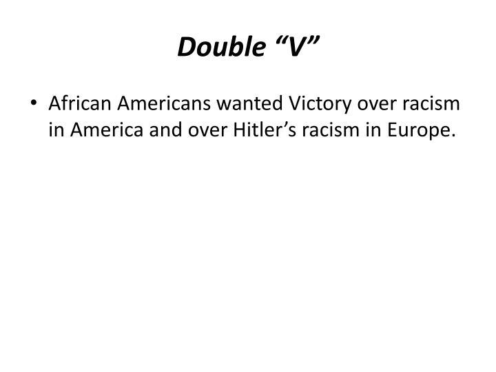 """Double """"V"""""""
