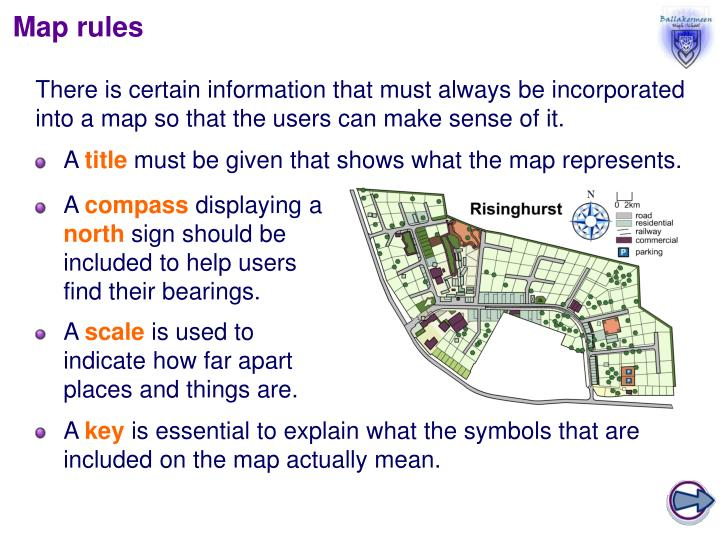 Map rules