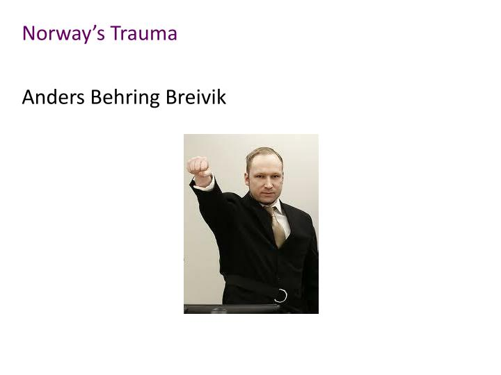 Norway s trauma anders behring breivik