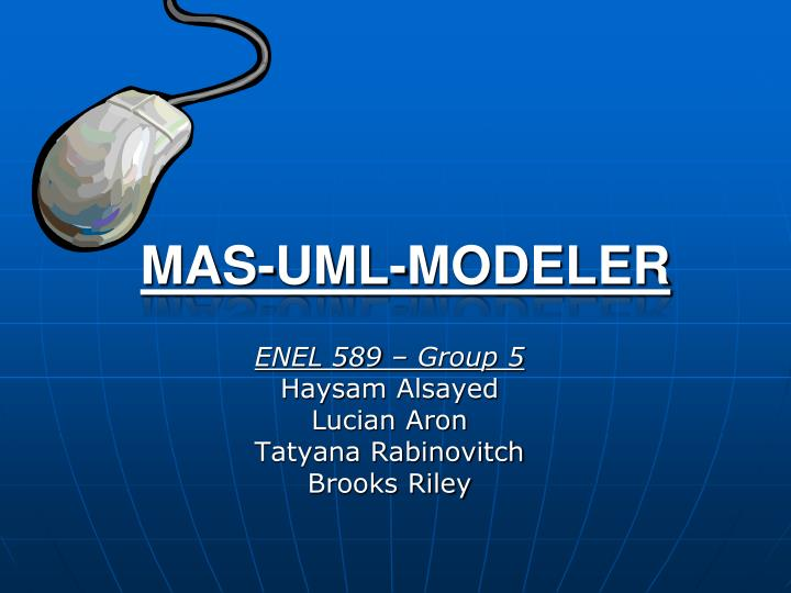 ENEL 589 – Group 5