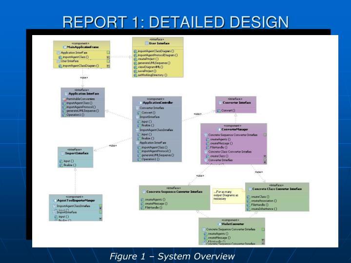 REPORT 1: DETAILED DESIGN