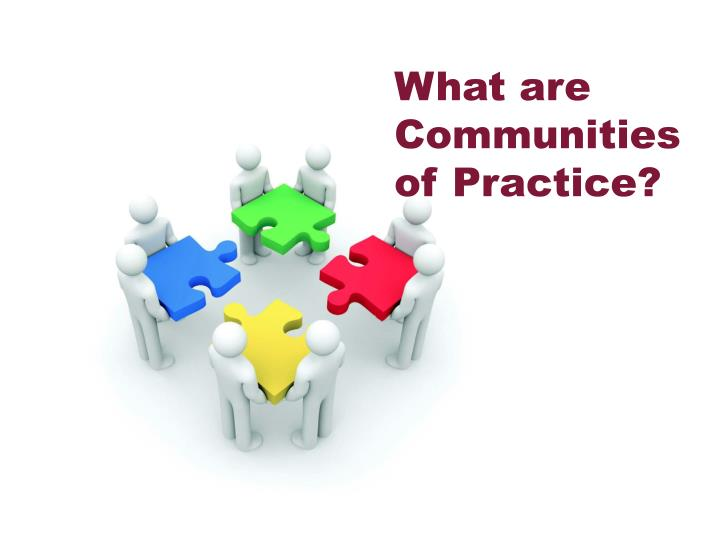 What are Communities of Practice?